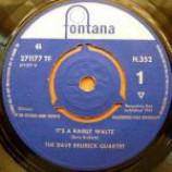 The Dave Brubeck Quartet - It's A Raggy Waltz - Vinyl 7 Inch