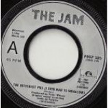 The Jam - The Bitterest Pill (I Ever Had To Swallow) - Vinyl 7 Inch