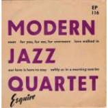 The Modern Jazz Quartet - EP - Vinyl 7 Inch