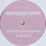 Various - Historical Archives Volume 5 - Vinyl 12 Inch