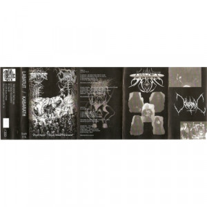 Labatut / Kabarah - Zhym Nphill / Black Metal Command - Cass, Ltd - Tape - Cassete