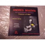 ANDRES SEGOVIA - CONCERTO IN D MAJOR