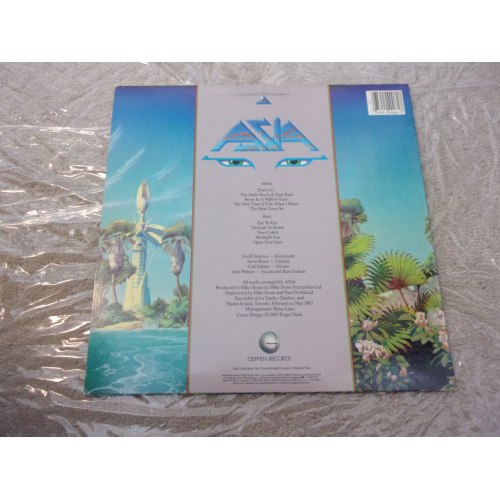 ASIA - ALPHA - Vinyl - LP