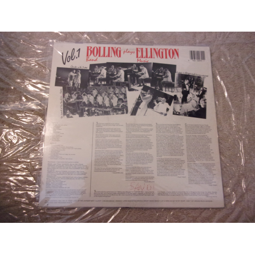 BOLLING BAND - BOLLING BAND PLAYS ELLINGTON MUSIC - Vinyl - LP