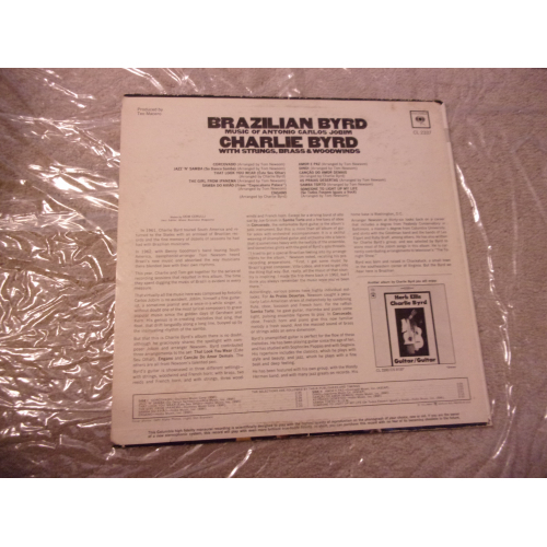 CHARLIE BYRD - BRAZILIAN BYRD - Vinyl - LP