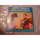 CONNIE FRANCIS & HANK WILLIAMS JR - SING GREAT COUNTRY FAVORITES