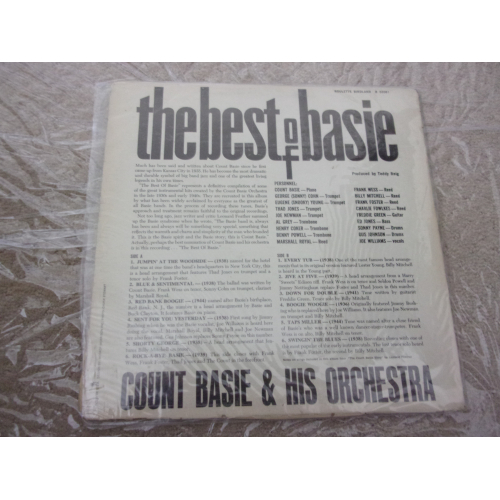 COUNT BASIE - BEST OF BASIE - Vinyl - LP