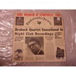 DAE BRUBECK QUARTET - DAVE BRUBECK AT STORYVILLE; 1954