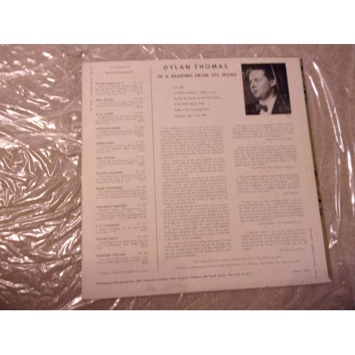 DYLAN THOMAS - DYLAN THOMAS   VOLUME 1 - Vinyl - LP