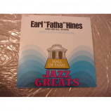 "EARL HINES - EARL ""FATHA"" HINES AND HIS ALL-STARS"