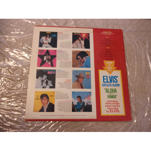 ELVIS PRESLEY - BURNING LOVE AND HITS FROM HIS MOVIES  VOL. 2 - Vinyl - LP