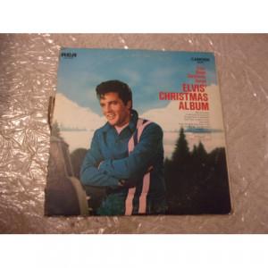 ELVIS PRESLEY - ELVIS' CHRISTMAS ALBUM - Vinyl - LP
