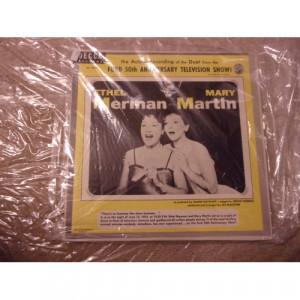 ETHEL MERMAN & MARY MARTIN - FORD 50TH ANNIVERSARY TELEVISION SHOW - Vinyl - 10''