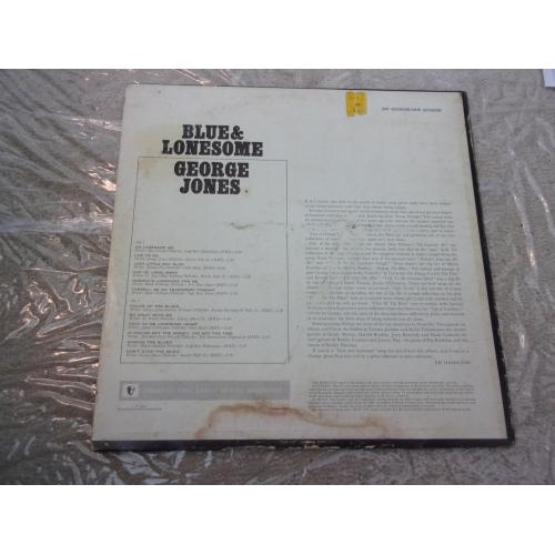GEORGE JONES - BLUE & LONESOME - Vinyl - LP