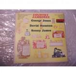 GEORGE JONES, DAVID HOUSTON & SONNY JAMES - COUNTRY JAMBOREE
