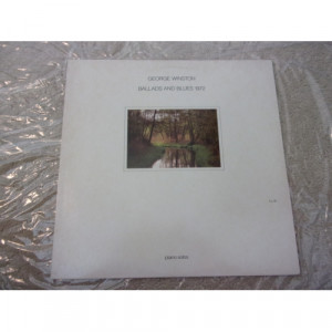 GEORGE WINSTON - BALLADS AND BLUES 1972 - Vinyl - LP