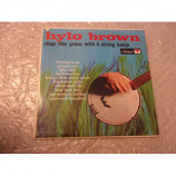 HYLO BROWN - HYLO BROWN SINGS BLUEGRASS WITH A FIVE STRING BANJO