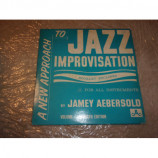 JAMEY AEBERSOLD - NEW APPOACH TO JAZZ IMPROVISATION