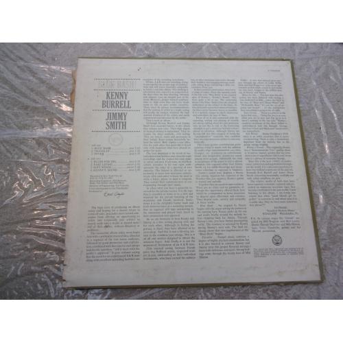 KENNY BURRELL & JIMMY SMITH - BLUE BASH - Vinyl - LP