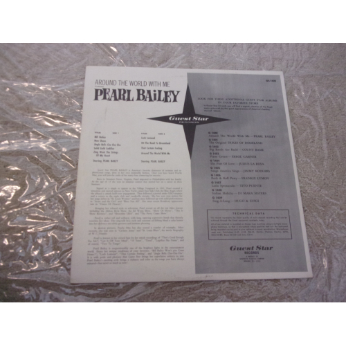 PEARL BAILEY - AROUND THE WORLD WITH ME - Vinyl - LP