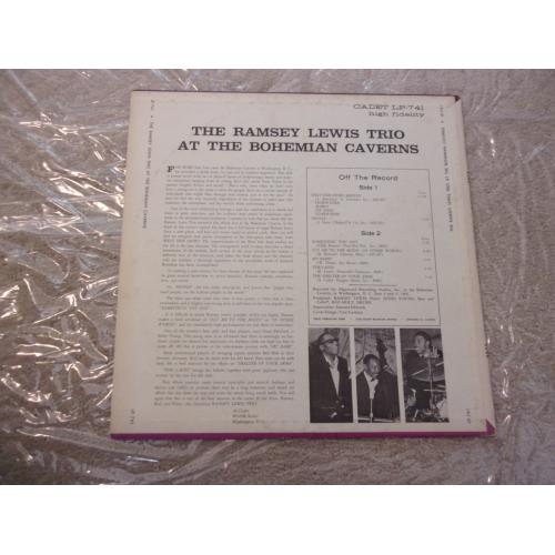 RAMSEY LEWIS TRIO - AT THE BOHEMIAN CAVERNS - Vinyl - LP