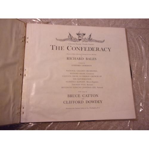 RICHARD BALES - THE CONFEDERACY - Vinyl - LP