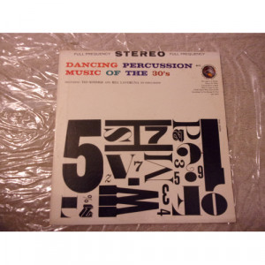 TERGNAD SOMMER & BILL LAVO - DANCING PERCUSSION MUSIC OF THE 30'S - Vinyl - LP