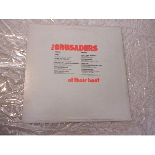 THE CRUSADERS - AT THEIR BEST - Vinyl - LP