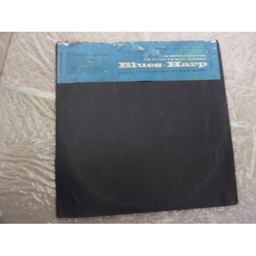 """TONY """"LITTLE SUN"""" GLOVER - BLUES HARP - Vinyl - LP"""