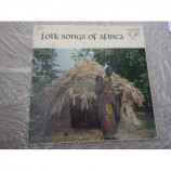 VARIOUS ARTISTS - FOLK SONGS OF AFRICA