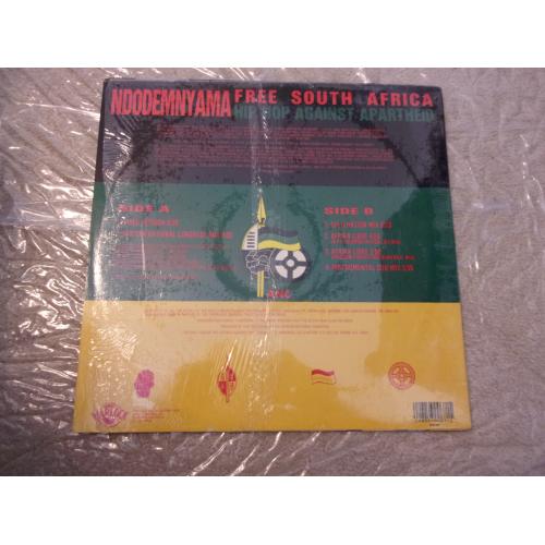 VARIOUS ARTISTS - FREE SOUTH AFRICA (NDODEMNYAMA) - Vinyl - LP