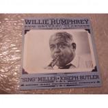 WILLIE HUMPHREY - NEW ORLEANS CLARINET