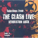 THE CLASH - SELECTIONS ,REVOLUTION ROCK T.V