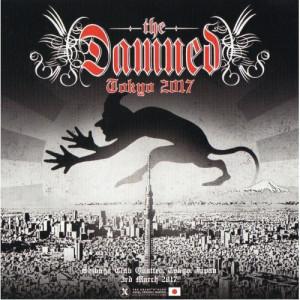 The Damned - tokyo 2017 - CD - 2CD