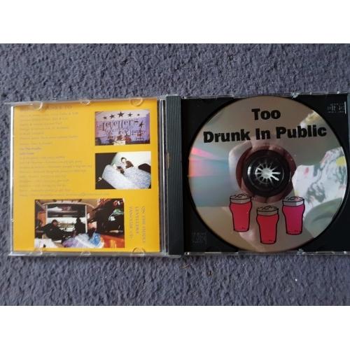 THE LEVELLERS - Too drunk in public - CD - Album
