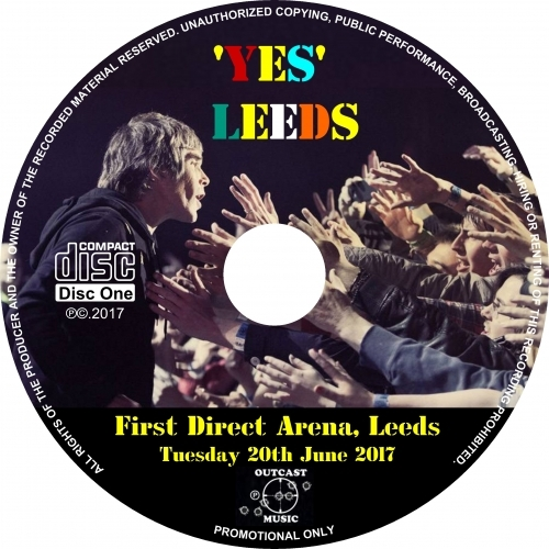 The Stone Roses - 'YES LEEDS' Live in Leeds 2017 - CD - 2CD
