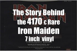 Some of the most expensive Iron Maiden Vinyl Records ever