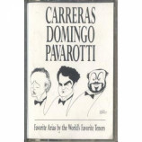 Carreras Domingo Pavarotti - Favorite Arias By The World's Favorite Tenors