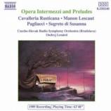 Czecho-Slovak Radio Symphony Orchestra - Opera Intermezzi and Preludes