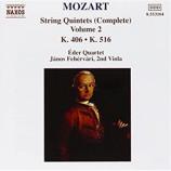 János Fejérvári, Eder Quintet - Mozrt: String Quintets (Complete) Volume 2, K. 406 - K. 516