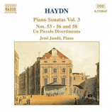 Jeno Jando, Piano - Haydn: Piano Sonatas Vol. 3