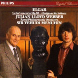 "Julian Lloyd Webber & Sir Yehudi Menuhin - Elgar: Cello Concerto Op.85 ""Enigna Variations"""