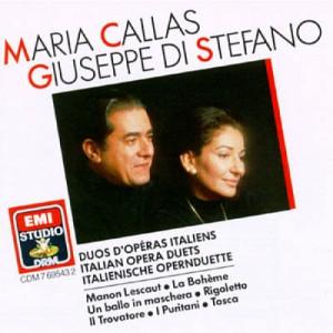 Maria Callas & Giuseppe Di Stefano - Duos D'Operas Italiens - CD - Compilation
