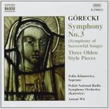 Polish National Radio Symphony Orchestra (Katowice - Gorceki: Symphony No. 3