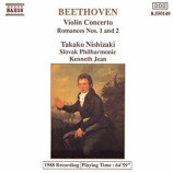 Takako Nishizaki, Slovak Philharmonic - Beethoven: Violin Concerto Romances Nos. 1 & 2