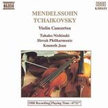 Takako Nishizaki, Slovak Philharmonic,Kenneth Jean - Mendelssohn & Tchaikovsky: Violin Concertos