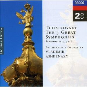 Vladimir Ashkenazy & Philharmonia Orchestra - Tchaikovsky: The 3 Great Symphonies, Symphonies 4, 5 & 6 - CD - 2CD