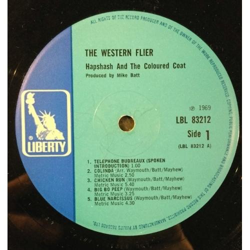Hapshash And The Coloured Coat - Western Flier - Vinyl - LP