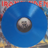 Iron Maiden - The Number Of The Beast (Blue vinyl)