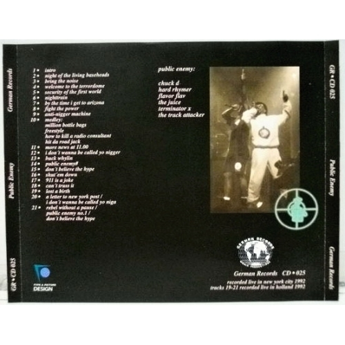 Public Enemy - What Ever Happened To X - CD - Compilation